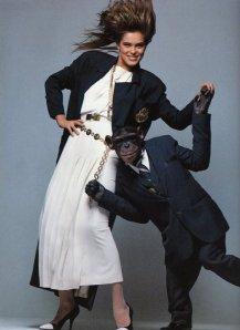 1986.3_Vogue-Fr._BilllKing_ReneeSimonsen